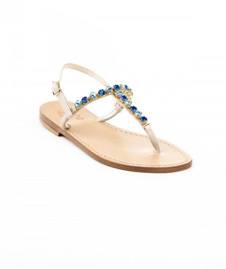 Julia - Capri blue e...