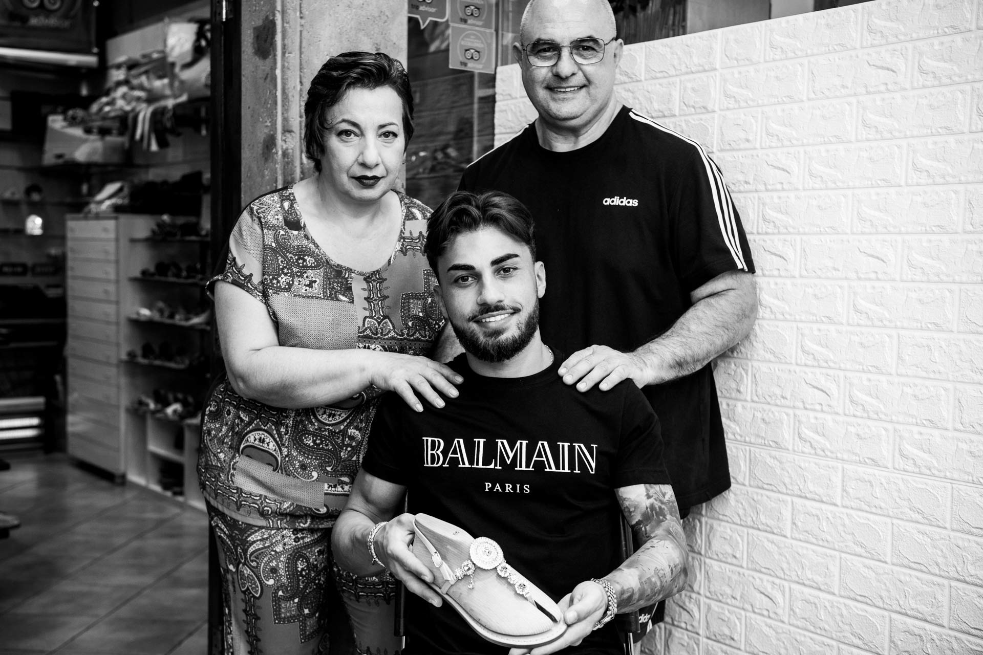Nanà Positano family photo