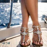 Follow the sparkle ✨   C.Cameron style available now on our website ! WWW.NANAPOSITANO.IT   #capri#positano#italy#handmade#custom#sparkle#shine#fashion#style#design#moda#class#nanapositano#creativity#crystals#amalficoast