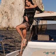 Una raffica di bellezza. Per i giorni e le notti d'estate. 💫   C.Cameron style disponibile ora sul nostro sito web: WWW.NANAPOSITANO.IT   #capri#positano#italy#amalficoast#fashion#design#custom#handmade#sandali#crystals#summer#boat#faraglioni#madeinitaly